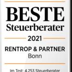 Handelsblatt BESTE Steuerberater 2021